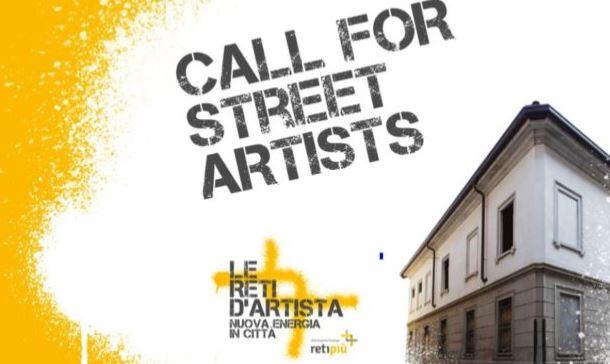 CALL FOR STREET ARTIST